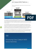 Cisco Catalyst 9000 1.1