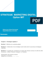 Cours Marketing Digital MIT Séance 1