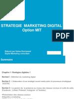 Cours Marketing Digital MIT Séance 1