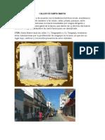 Calles de Santa Marta
