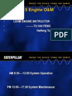 CAT C-15 Operation & Maintenance