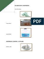 Materiales Practica Tecnologia de Tabletas