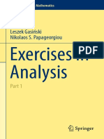 (Problem Books in Mathematics) Gasiński, Leszek_ Papageorgiou, Nikolaos Socrates - Exercises in Analysis_ Part 1-Springer (2014)