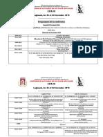 programme conférence