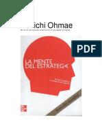 La Mente del Estratega - Kenichi Ohmae