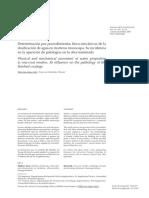 Determinación Por Procedimientos Físico-mecánicos de La Dosificacio de Agua