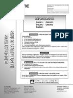 Dometic Operating Manual