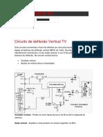 Circuito de Deflexão Vertical TV
