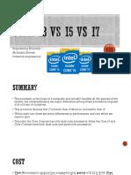 Core i3 vs i5 vs i7