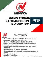 ISO 9001 TRANCISION