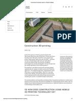 Construction 3D-Printing Apis Cor We Print Buildings