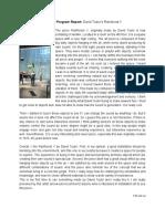 Creative Program Report_Yen Jui Lu