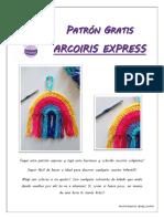 Arco iris crochet