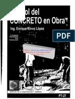 Control de Concreto en Obra - Icg Peru