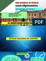 12. Sistema Nacional de Control Gubernamental