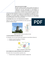 Historia de La Nergia Solar en El Peruhhh