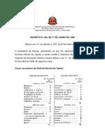Decreto Estadual 362 de 17 de Junho de 1896 – Reforma Da Escola Normal
