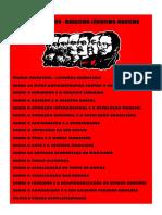 Plano de Estudo - Marxismo-Leninismo-Maoismo ☭