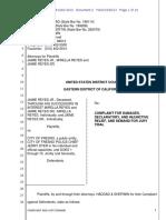 Lawsuit in Jaime Reyes Killing