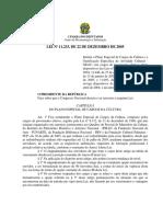 Lei 11233 22 Dezembro 2005 539799 Normaatualizada Pl