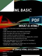 HyperText Markup Language New Lesson