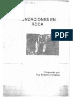 Fundaciones en Roca