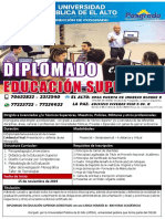 Diplomado Educación Superior Upea