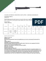 Carabina de Pressão 5,5mm Nitro-x Soft Action e Nitro-x