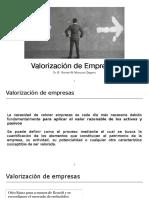 Finanzas - Valorización de Empresas