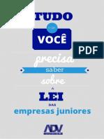 ADV JUNIOR Cartilha Da Lei Empresa Júnior