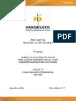 Act. 1 Matematica Financiera 1