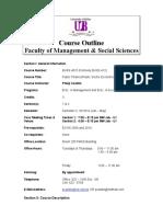 Course Outline- BUSS 4015 Course Outlline (2013-14)
