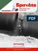 Plasson USA - 2018 Spirolite Boletin 908