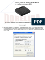 Guía para configurar Modem Siemens Speedstream 4200