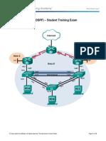 ScaN Skills Assess - OSPF - Student Trng - Exam