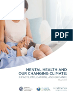 MENTAL HEALTH AND OUR CHANGING CLIMATE