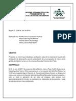 f. Informe Diagnóstico Evaluacion de Desempeño