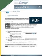 AutoCAD 2D - Sesión 2
