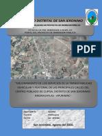 plan de desarrollo de san jerónimo