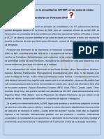 Articulo Nic-niif en Venezuela. 2019