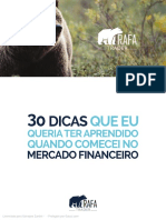 eBook Rafa Trader - 30 Dicas