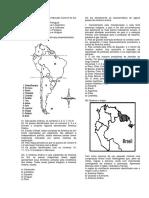 Questões sobre a América Do Sul - Prof. Adão Marcos