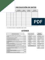 Ficha de recolección de datos