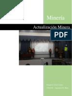 Actualización Minera