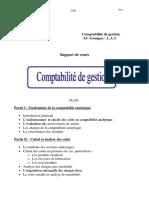 comptabilité analytique support