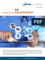 A Definitive Guide to Medical Device Design and Development