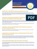 FAQ on new Riverside County voting equipment