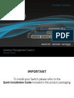 EWS Layer 2 Switch Manual 0217.14L