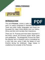 The Hindu Puranas
