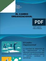 Presentación Cambio Organizacional 1